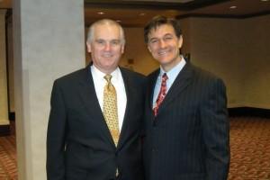 Scott Beeken with Dr. Oz