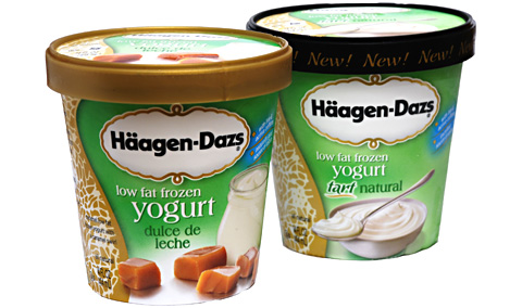 Haagen Dazs Fat Free Frozen Yogurt