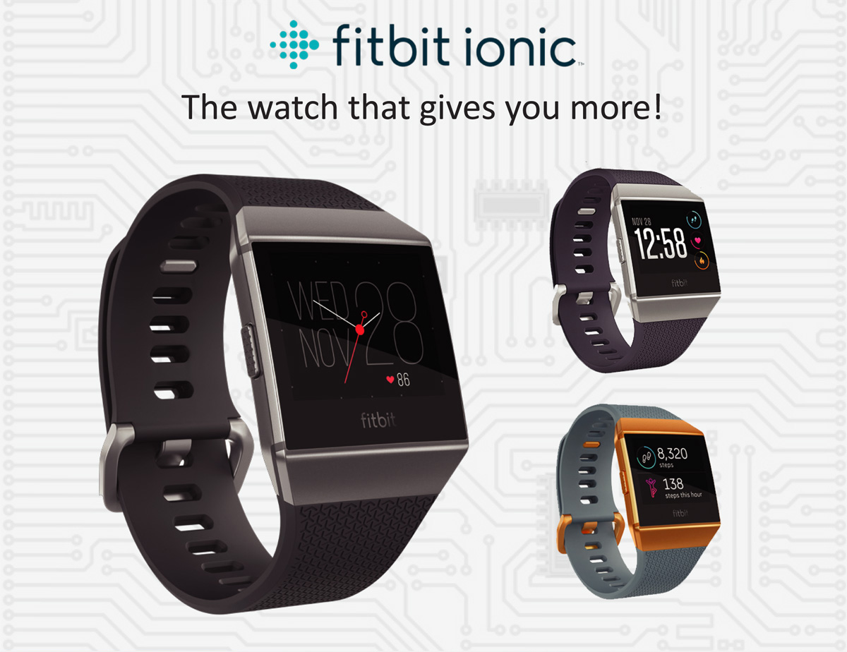 Fitbit Iconic Watch